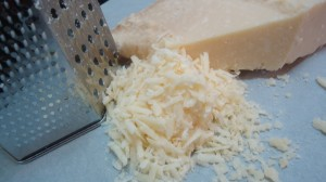 Grated Grana Padano Cheese