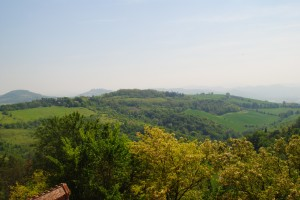 View from the Top of San Luca
