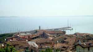 View of Desenzano from the Castle