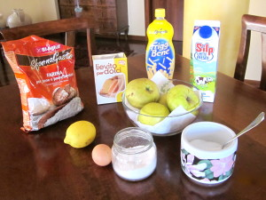 Ingredients for Apple Fritters