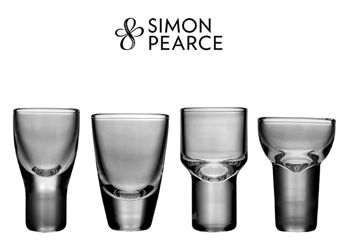 Simon Pearce Cordial Glasses