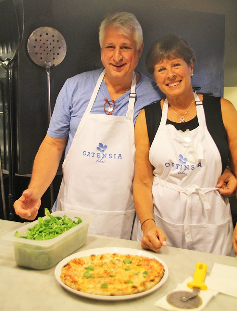 Making Pizza on Prosecco Tour