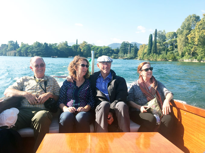 Boat to Isola del Garda on Lake Garda